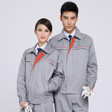 Reflective of labor garments long-sleeve work put on set male protecting clothes work put on