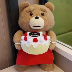 Image 5 - Плюшевый мишка из фильма «она» 45 см, плюшевые игрушки в костюме для мальчиков, мягкие куклы с плюшевыми животными Теда, подарок для невесты хорошего качества в платье