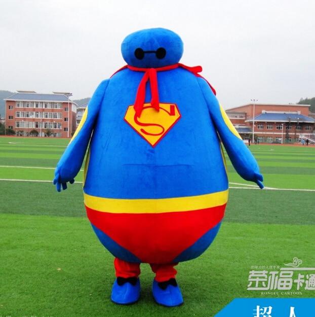 Dessin animé poupée vêtements Batman mascotte costume marche poupée vêtements