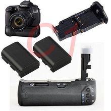 JINTU камера Батарейный держатель+ 2 шт LP-E6 Аккумулятор для Canon EOS 60D 60Da 60D-a Замена BG-E9