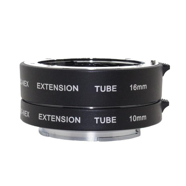 DG-NEX Aluminio Enfoque Automático AF Enfoque Automático Tubo de Extensión Macro DG Con Full Frame para Sony E-mount A7 AR7 A6000