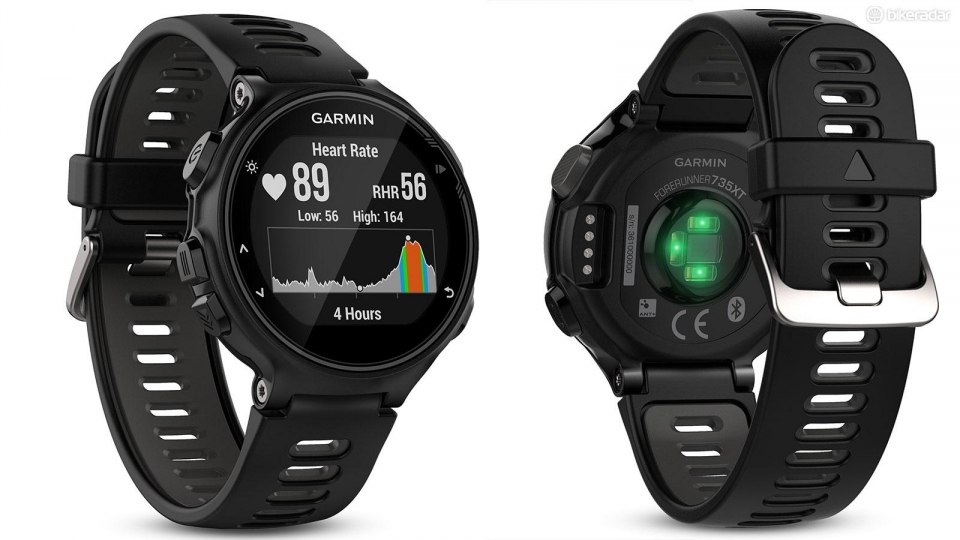 Garmin Forerunner 735XT GPS Wrist HR Multisport Watch - Black/Grey legenda comfort 735