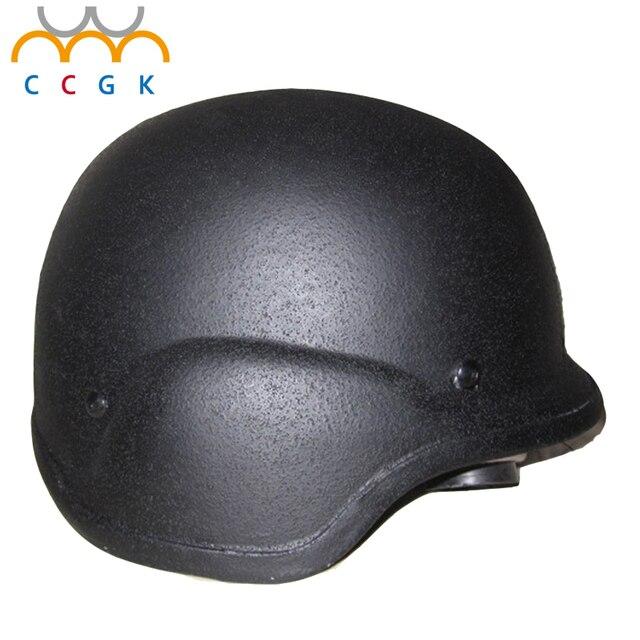New PE polyethylene ballistic bulletproof helmet tactical gear helmets 51 type 7.62mm pistol bullet Swat riot-proof Helmet cap