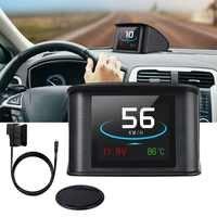 Auto Head Up Display Mit TFT LCD Display Zeigt Geschwindigkeit RPM Spannung Erkennung Für Fehler Code Multi funktion Auto HUD für Autos