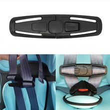 4Pcs Durable Baby Belt Buckles Adjuster Car Safety Seat Protector Stra
