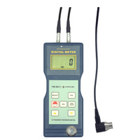 Hot Sale High Accuracy Thickness Ultrasonic Gauge Meter TM 8811 1.5~200mm Ultrasonic Thickness Measuring Meter PVC Iron Aluminum