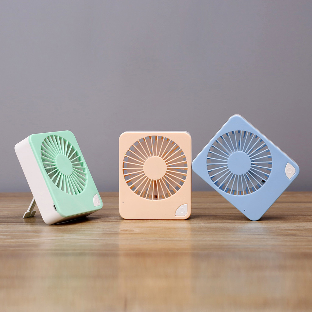 kitchen accessories 2019 USB Mini Desktop Creative Handheld Portable Fan(China)