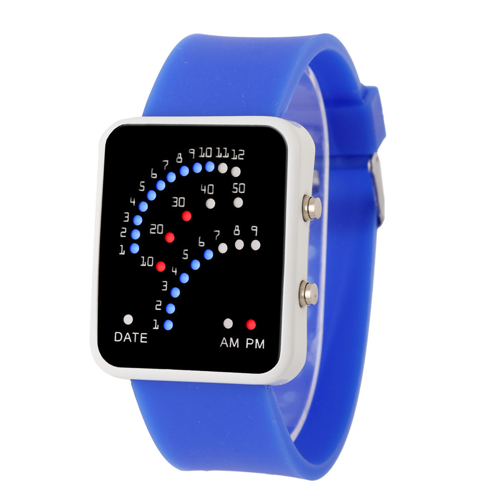 online buy whole futuristic watch from futuristic watch women girl mens silicone watch futuristic style multicolor led men sports watches fashion saat 2016 feida