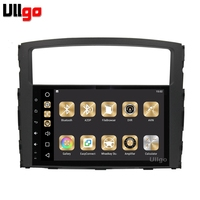 9 inch Android 8.0 Car Head Unit for Mitsubishi Pajero V93 V97 2006 2015 Autoradio GPS Car Stereo with RDS BT Mirrior Link Wifi