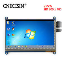 CNIKESIN 7 inch LCD Touch Screen Display for Raspberry Pie HDMI HD BB BLACK Computer Screen LCD