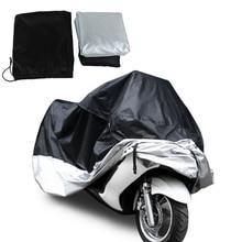 Universal Waterproof Outdoor Motorcycle Motorbike Cruiser Bike Rain Cover XXL Size