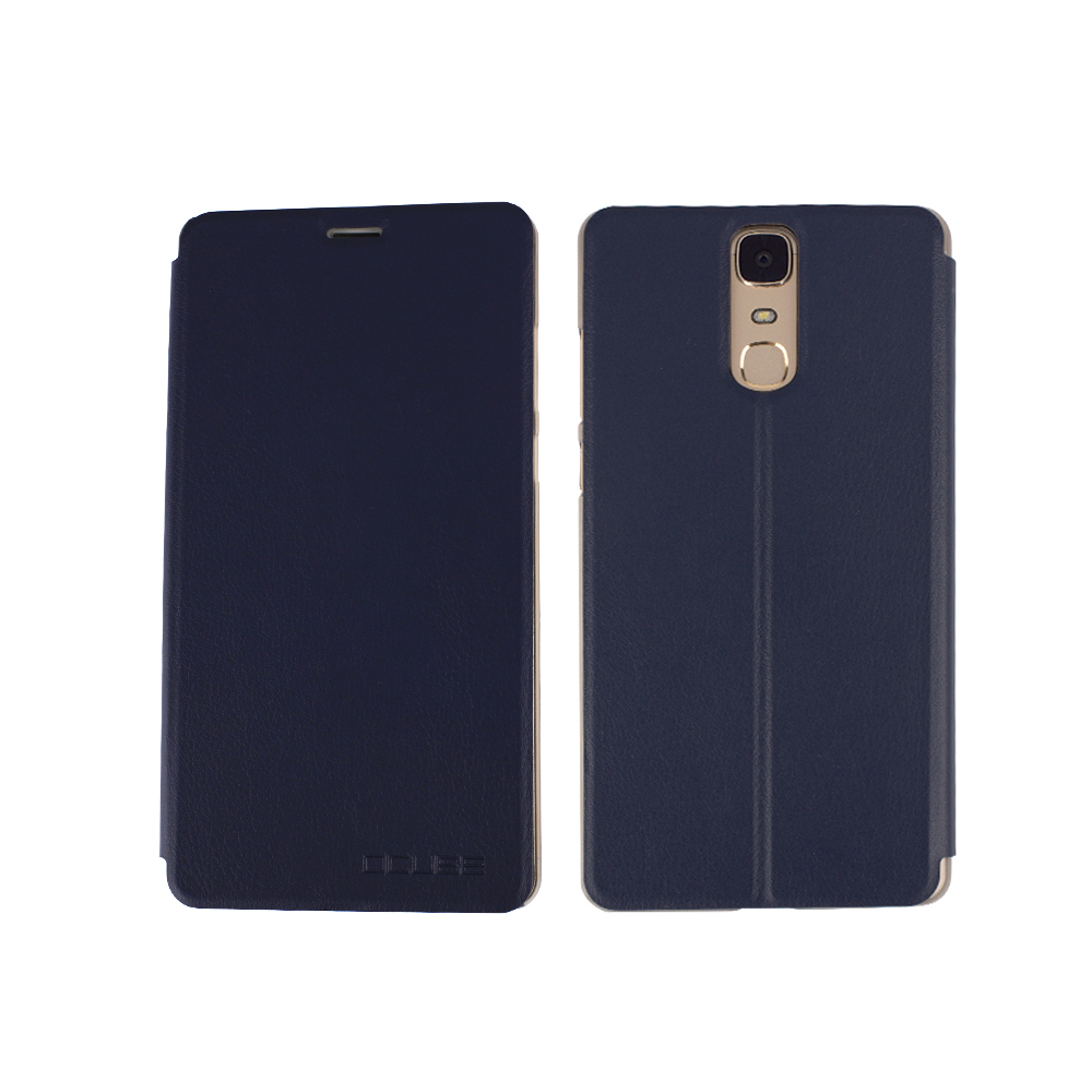 De luxe Doogee Y6 MAX cas De Protection En Cuir Flip PU Étui En Cuir Pour 6.5 Doogee Y6 MAX Intelligent Moible Téléphone