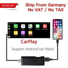 Carlinke USB Smart Link Apple CarPlay ключ Box для Android навигации DVD Радио плеер Mini-USB CarPlay Стик для apple IOS