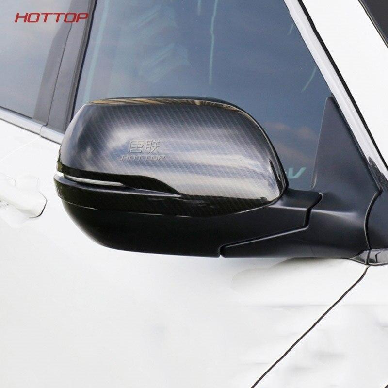 Cadre de garniture de rétroviseur latéral en verre chromé ABS 2 pièces pour Honda CRV CR-V 2017 2018 5th accessoires