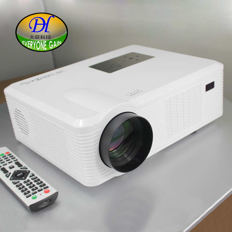 Everyone Gain TL261 3D LCD Projector Full HD Widescreen Home Theater Proyector 50000hs lamp life Support
