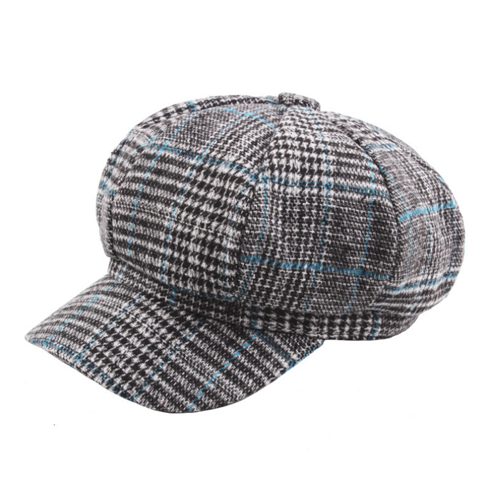 2018 Neue Frühling Winter Unisex Vintage Twill Baumwolle Kappe Vintage Unadjustable Hut 9,6 Visiere Kopfbedeckungen Für Herren