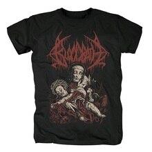 3 дизайна, Шведский металл, кровавая ванна, Camiseta Rock, брендовая рубашка, Hardrock ropa mujer, скейтборд в стиле панк уличная футболка
