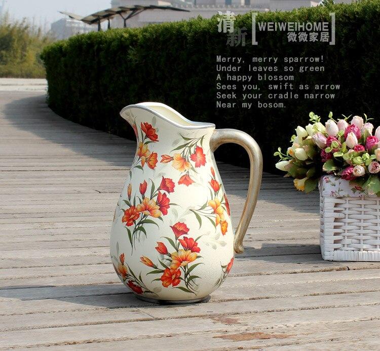 florero rstico flor floral dispositivo