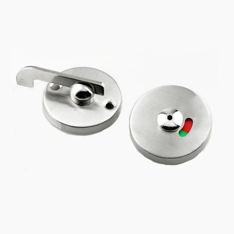 Stainless Steel Door Lock Instructions Public Restroom Toilet Partition Door Lock Vacant Engaged