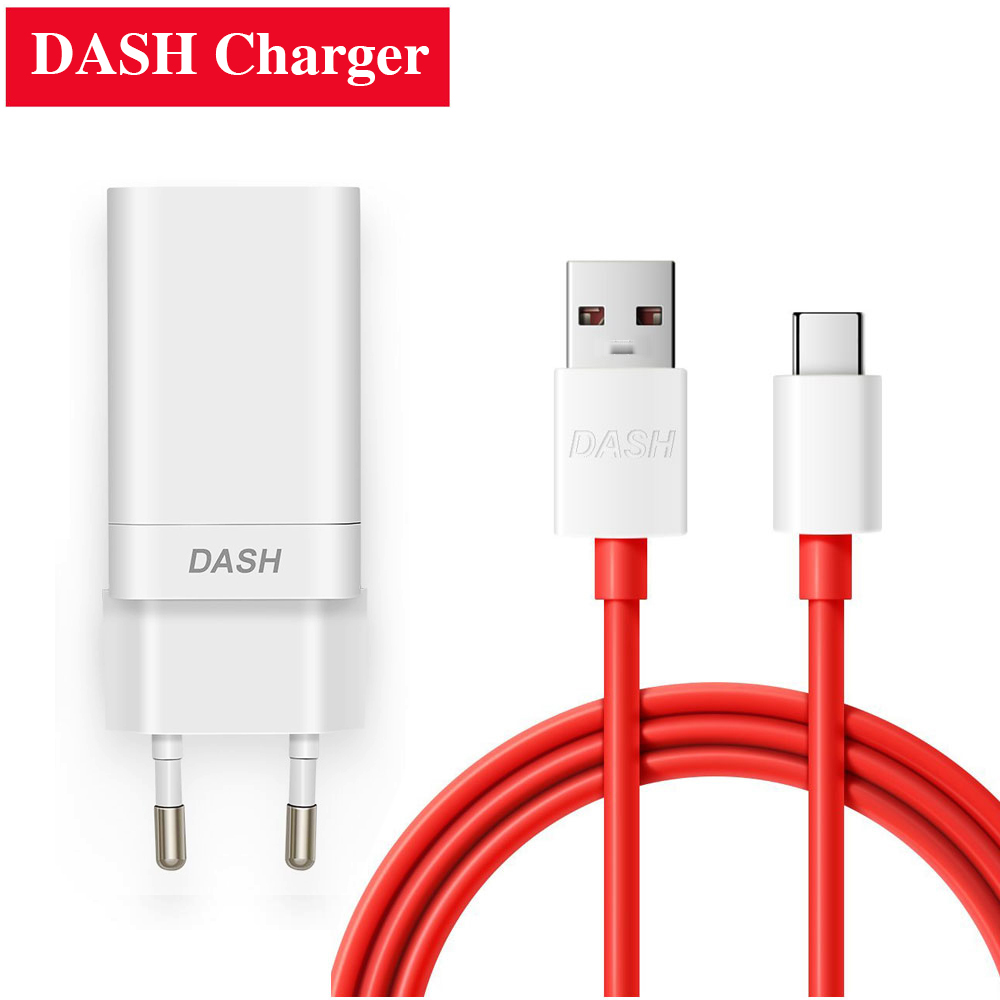 EU US UK Plug 5V/4A DASH Fast charger for oneplus 3 3T 5 5T 6 Smartphone USBC Fast DASH cable wall power adapter