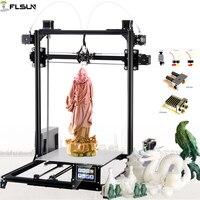 Shipping to German Flsun I3 DIY 3D Printer kit Large Printing Area 300*300*420mm Open Build Aluminium