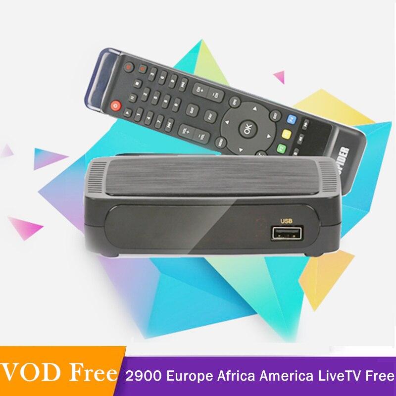 STB TV Smart arabe IPTV abonnement M3u IPTV Italia Iptv arabe Gratuit espagne Portugal France H.265 Decodeur TV Gratuit France
