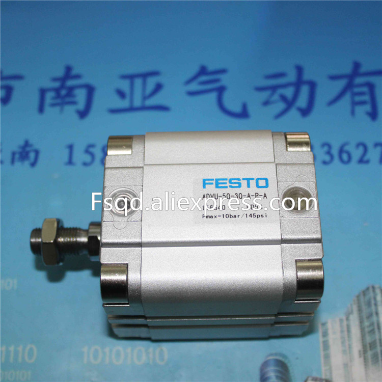 ADVU-50-20/25/30-P-A  FESTO Compact cylinders  pneumatic cylinder  ADVU series festo imported cylinder advu 25 160 a p a s6
