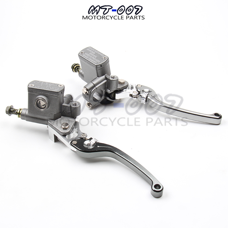 Alloy Left and right Brake Pump brake master cylinder pump Fit Dirt Pit Bike ATV Quad scooter Off Road Motorcycle Free shipping high quality cnc front brake master cylinder pump lever for dirt pit bike atv quad scooter enduro supermoto off road motorcycle
