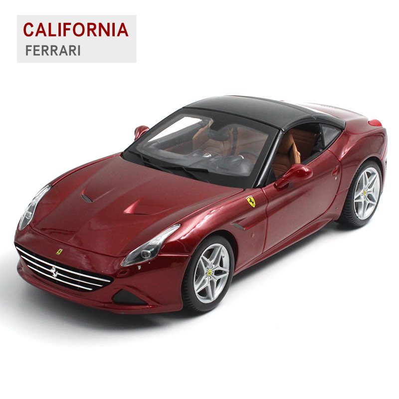 ФОТО Bburago California T 1:18 Alloy Car Model Toys Diecasts & Toy Vehicles Collection Kids Toys Gift