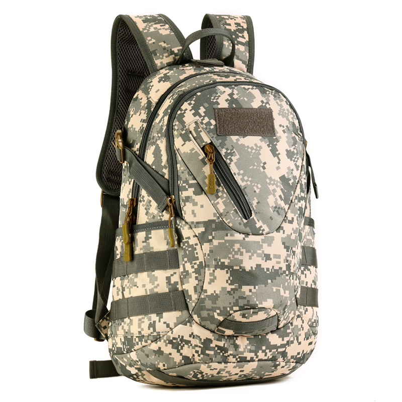 Protezione Militare marpat Più Di Scuola Esercito Campeggio Impermeabile 20l Durevole Tattico Desert Escursionismo Molle Esterno Zaino Acu greyish black Brown Camouflage Sacchetto XzqwqrRx