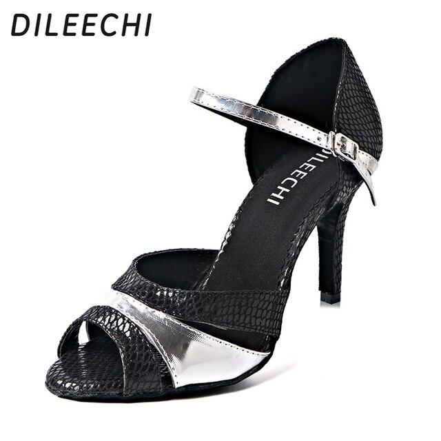 Latino Dileechi Da Delle Ballo Pu Donne Scarpe Argento Ultime Le qrvaq04