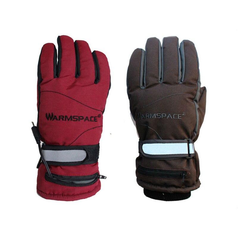 где купить USB Electric Heating Gloves,Electric Rechargeable Heated Gloves,Lithium Battery Winter Warm Ski Outdoor Sport Gloves Women Men по лучшей цене
