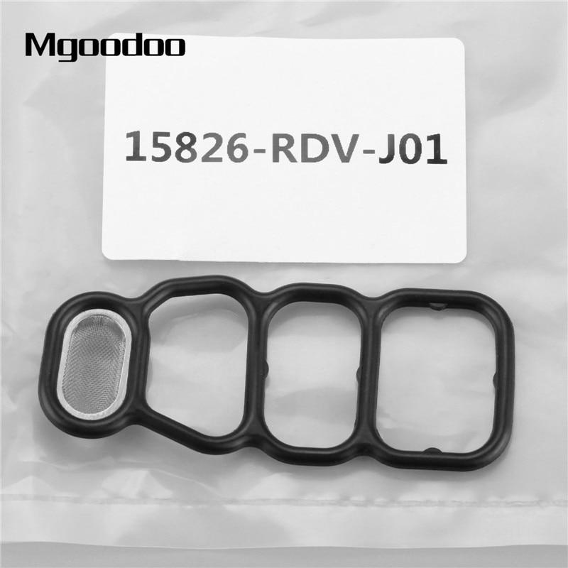 15826RDVJ01 Fit Honda Odyssey Acura VTEC Solenoid Gasket Spool Valve Filter Scre