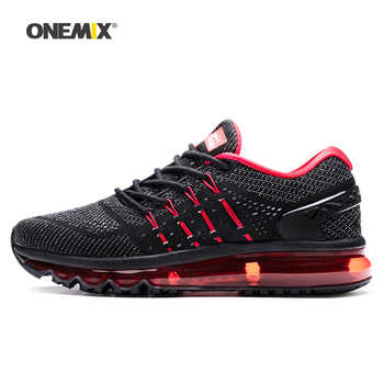 ONEMIX 2019 Max Men Walking Shoes For Women Cushion Fitness Trail Athletic Trainers Tennis Sports Black Outdoor Running Sneakers