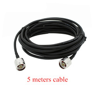 Coaxial Cable Repeater Cable Antenna Cable With N Male To N Male Connector 5 Meters