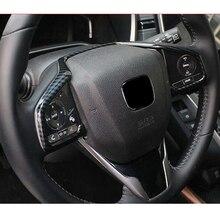 Hot sale For Honda CRV CR-V 2017 2018 Car styling body stick cover Steering wheel Kit Strip Trim lamp frame panel part hood 1pcs