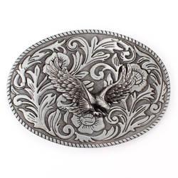 Тан трава узор Hawk пряжка на ремешке пояса Гладкая пряжки в горошек оптовая продажа