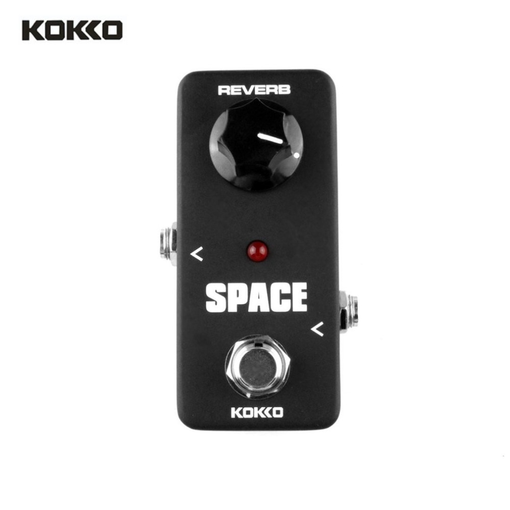 KOKKO FRB2 Mini Electric Guitar Effects Pedal Space Full Reverb Effect Sound Processor Stompbox Guitar Parts & Accessories New kokko fbs2 mini guitar effect pedal guitarra booster high power tube electric guitar two segment eq effect device parts
