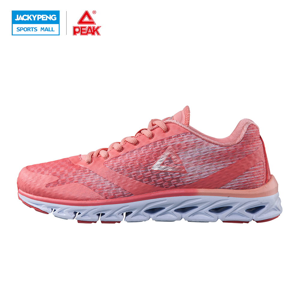 ФОТО PEAK SPORT Wyatt Ran Tee enerations Women Running Shoes Mesh Breathable Lightweight Cushioning Jogging Sneakers Trainers