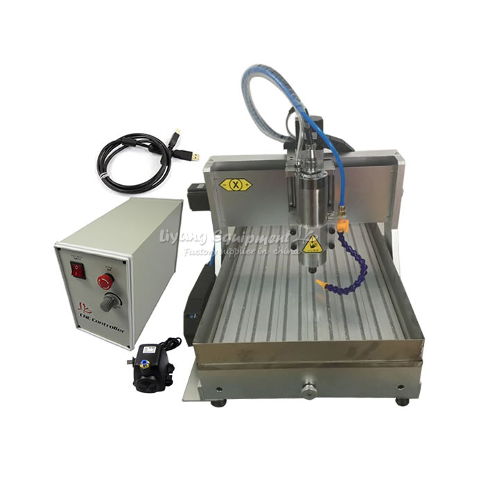 CNC 6040 router 3axis PCB cutting machine 1500w with water tank cnc 5axis a aixs rotary axis t chuck type for cnc router cnc milling machine best quality