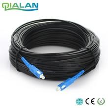 500m outdoor SC Ftth Dromp Cable Simplex Singlemode G657A Fiber optic patch cord FTTH fiber jumper