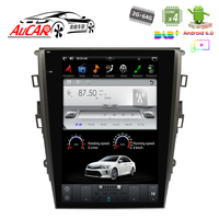 Tesla Style 12.1 for Ford Mondeo car radio car multimedia player GPS System Audio Bluetooth Radio WIFI 4G Vertical Stereo IPS