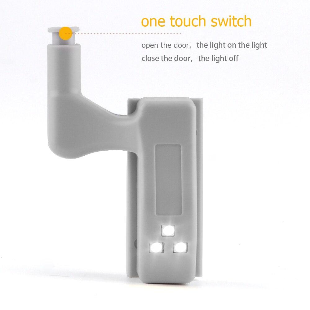 Casalife Led Cabinet Sensor Light: LED Sensors Lights For Cabinets 10 Pcs