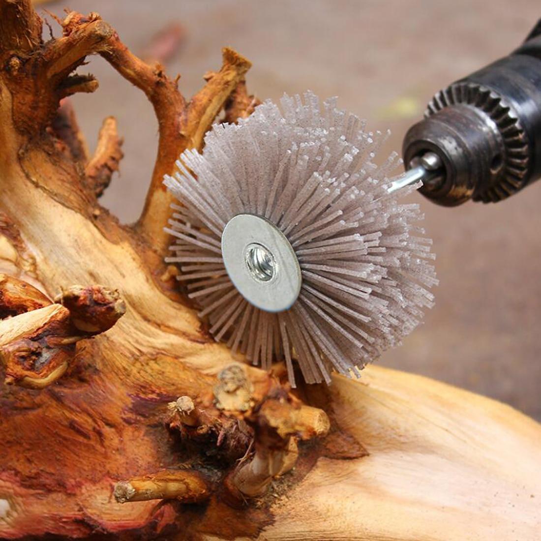 Hot Abrasive Wire Grinding Flower Head Abrasive Nylon