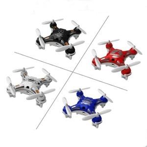 Image 5 - Drone de poche avion à quatre axes Mini aéronef sans pilote (UAV) Portable multi play Mini télécommande jouets LED lumières hélicoptère