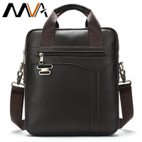 MVA Men ' s Shoulder Bag Male Genuine Leather Crossbody Bags for Men Messenger Bag Casual Vintage Clutch Handbags bolsos 8569