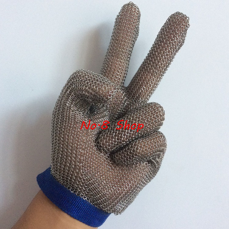 Cut <font><b>Resistant</b></font> <font><b>Gloves</b></font> Material Steel Ring Steel Ring Wire Metal Protectiveg Anti Knife <font><b>Gloves</b></font> EN 388 420 CE <font><b>Gloves</b></font>