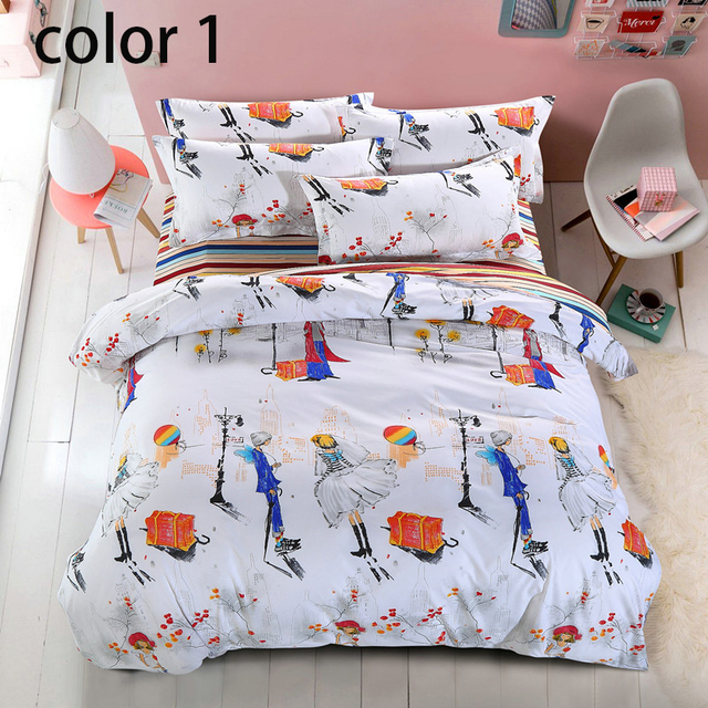 Housse De Couette Queen Twin Bedding Set Brand Bedding King Size bed ...