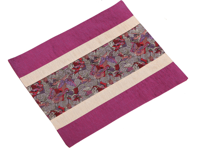 Handmade Patchwork Modern Dining Table Mats Placemat Luxury European Style Silk Brocade Insulation Western Food Pads