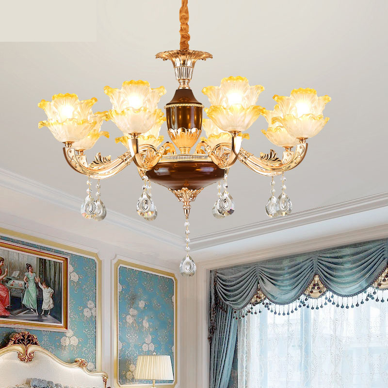 Lights & Lighting Led Chandeliers Living Room Suspension Luminaires Ceramic Suspended Lamps Luxury Lighting Fixtures Bedroom Hanging Lights Ceiling Lights & Fans